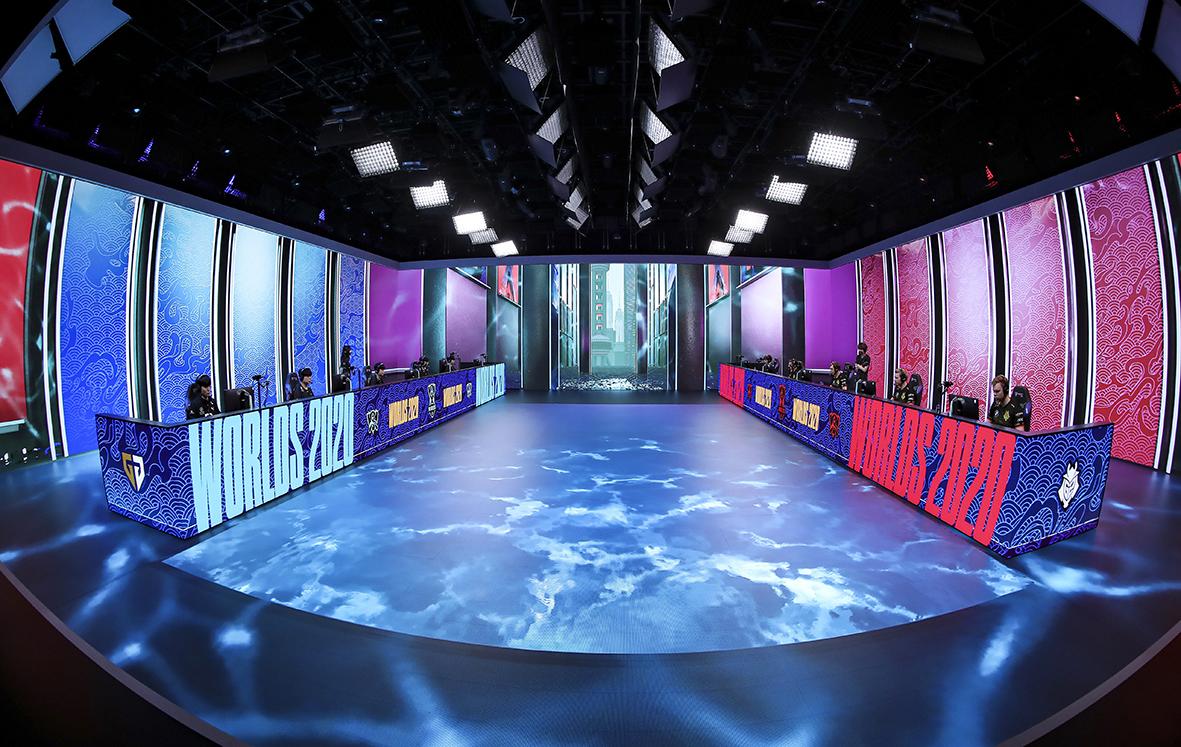 Interactive LED floor tile screen studio has many applications.